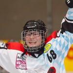 Eishockey in der Eishalle Regen
